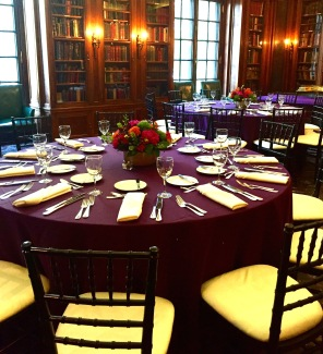 Library Dinner Tables