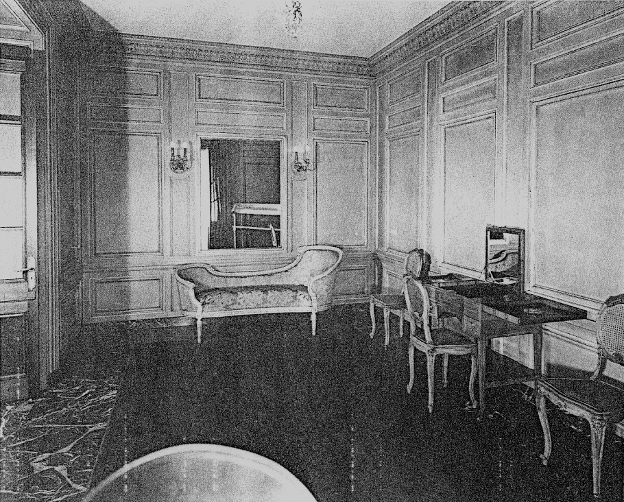 The 1st Floor Powder Room (now the IMSS Box Office & Gift Shop)